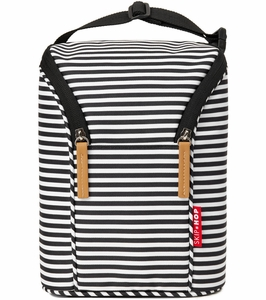 Skip Hop Grab & Go Double Bottle Bag - Stripe