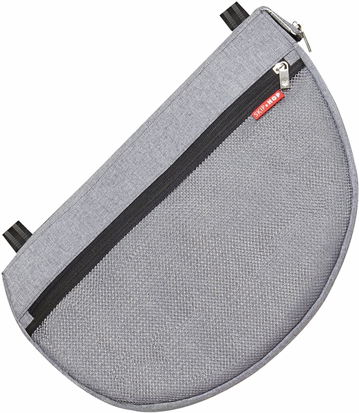 Skip Hop Grab & Go Stroller Saddlebag - Heather Grey