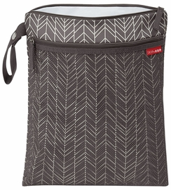 Skip Hop Grab & Go Wet/Dry Bag - Grey Feather