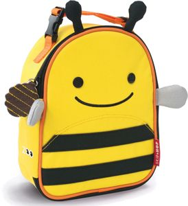 Skip Hop Zoo Lunchie Insulated Lunch Bag - Bee