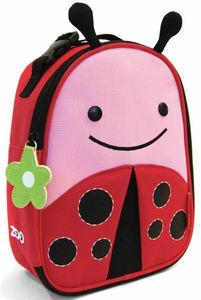 Skip Hop Zoo Lunchie Insulated Lunch Bag - Ladybug