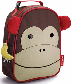 Skip Hop Zoo Lunchie Insulated Lunch Bag - Monkey