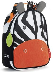 Skip Hop Zoo Lunchie Insulated Lunch Bag - Zebra