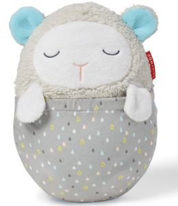 Skip Hop Moonlight & Melodies Hug Me Projection Baby Soother Lamb