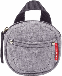 Skip Hop Pacifier Pocket - Heather Grey