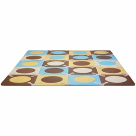 Skip Hop Playspot Interlocking Foam Tiles - Blue / Gold