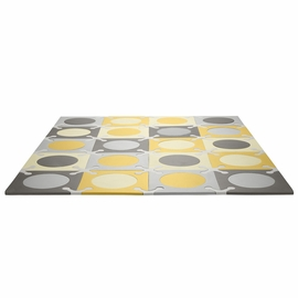 Skip Hop Playspot Interlocking Foam Tiles - Gold / Grey