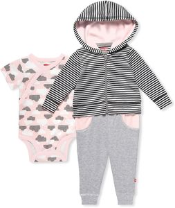 6 months Grey Skip Hop Star Struck Jogger Pants Set
