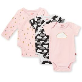 Skip Hop Star-Struck Bodysuit, 3-Pack - Pink (Newborn)