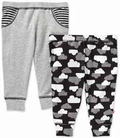 Skip Hop Star-Struck Jogger Pants Set - Grey (Newborn)