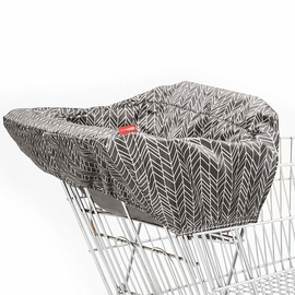 Skip Hop Take Cover Shopping Cart/High Chair Cover - Grey Feather