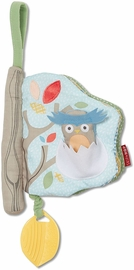 Skip Hop Treetop Friends Soft Activity Book - Grey/Pastel