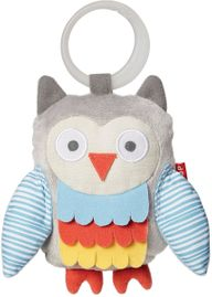 Skip Hop Treetop Friends Wise Owl Stroller Toy - Grey/Pastel