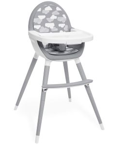 Skip Hop TUO Convertible High Chair - Grey/Clouds