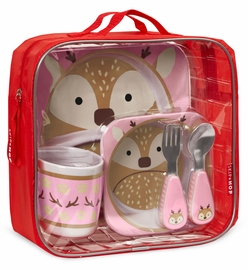 Skip Hop Winter Zoo Mealtime Set - Deer