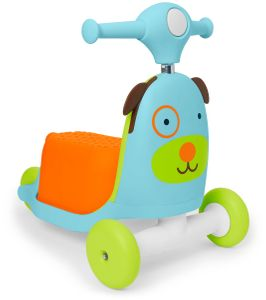 Skip Hop Zoo 3-in-1 Ride On Toy - Dog