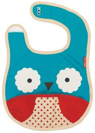 Skip Hop Zoo Tuck-Away Bib - Owl