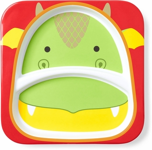 Skip Hop Zoo Divided Plate - Dragon