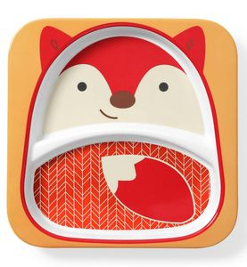 Skip Hop Zoo Divided Plate - Fox