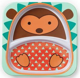 Skip Hop Zoo Divided Plate - Hedgehog
