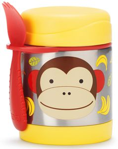 Skip Hop Zoo Food Jar - Monkey