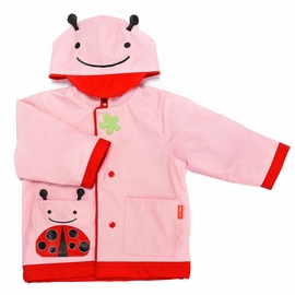 Skip Hop Zoo Little Kid Raincoat, Medium (3-4) - Ladybug