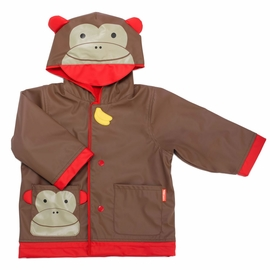 Skip Hop Zoo Little Kid Raincoat, Small (2) - Monkey