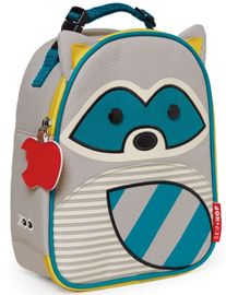Skip Hop Zoo Lunchies Insulated Lunch Bag - Raccoon