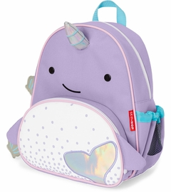 Skip Hop Zoo Pack Kid Backpack - Narwhal