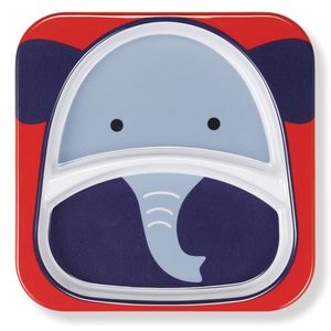 Skip Hop Zoo Divided Plate - Elephant
