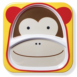 Skip Hop Zoo Divided Plate - Monkey
