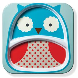 Skip Hop Zoo Divided Plate in Owl