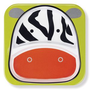 Skip Hop Zoo Divided Plate - Zebra