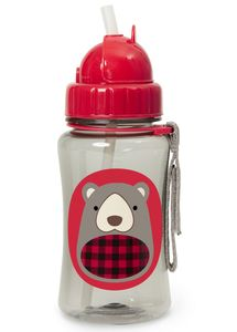 Skip Hop Zoo Straw Bottle - Bear