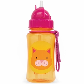 Skip Hop Zoo Straw Bottle - Cat