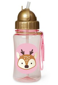 Skip Hop Zoo Straw Bottle - Deer