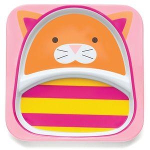 Skip Hop ZOO Divided Plate - Cat
