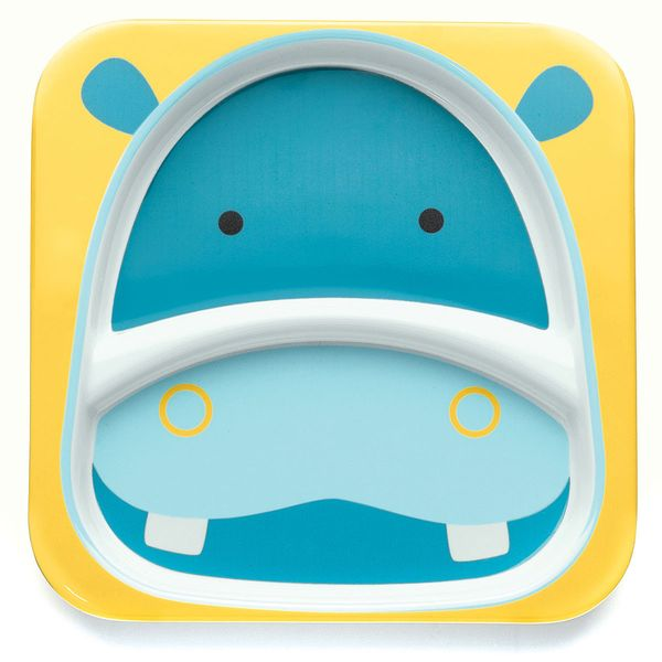 Skip Hop ZOO Divided Plate - Hippo