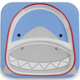 Skip Hop Zoo Divided  Plate - Shark