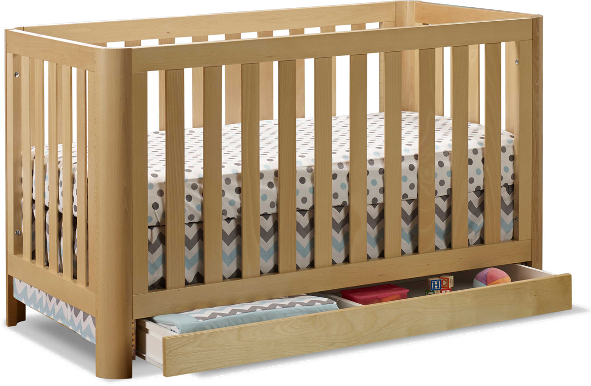 Sorelle Cortina 3-in-1 Convertible Crib - Natural