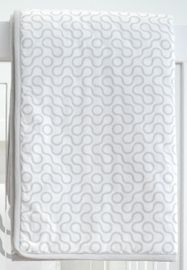Spot On Square Join Organic Quilt - Grey