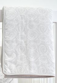 Spot On Square Spun Organic Quilt - Grey