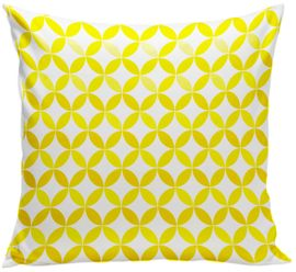 Spot On Square Tops Organic Pillow - Yellow