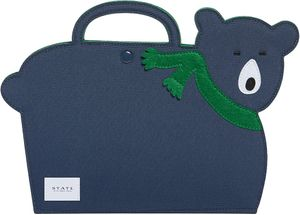 State Bags Harbor Artfolio Art Set - Green/Navy
