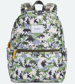 State Bags Kane Backpack Diaper Bag - Dinoflage