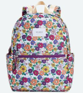 State Bags Kane Backpack Diaper Bag - Ikat Floral