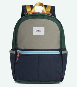 State Bags Kane Kids Backpack - Green/Navy