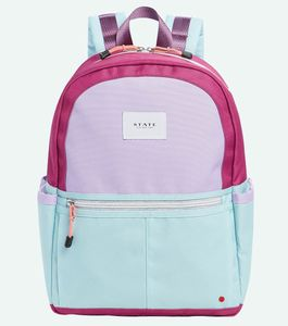 State Bags Kane Kids Backpack - Magenta/Mint