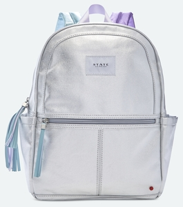 State Bags Kane Kids Backpack - Silver Multi