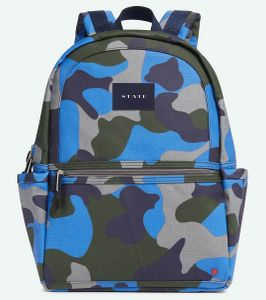 State Bags Kane Travel Kids Backpack - Camo